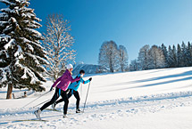 Close to nature and Nordic skiing